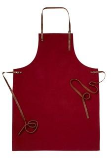 MORBERG Förkläde Canvas Röd