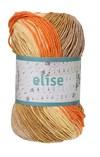Elise 100g Oranssi, okra, beige batiikki (69010)