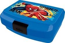 Matlåda + vattenflaska, Spiderman