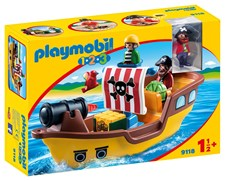 Piratskip, Playmobil 1.2.3 (9118)