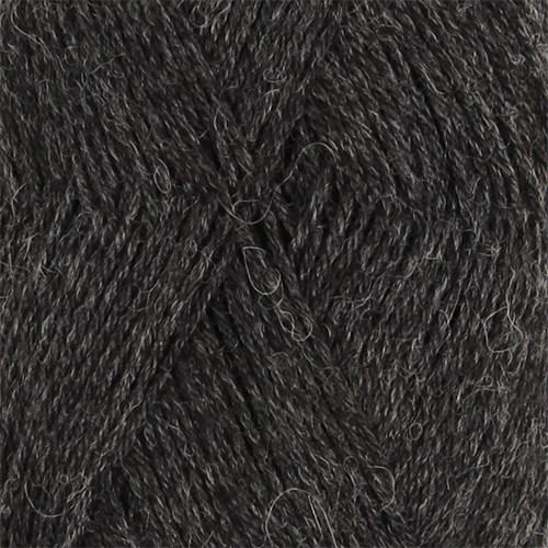 Drops Nord Mix Garn Alpackamix 50g Dark Grey 06