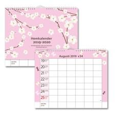 Väggkalender 19-20 Burde Hemkalendern