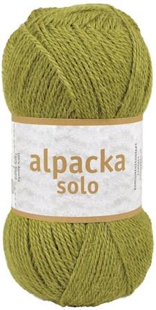 Alpacka Solo Ullgarn 50g Olivgrön (29125)