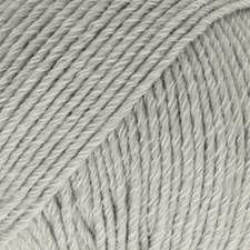 Drops Cotton Merino Uni Colour Garn Ullmix 50g Light Grey 20