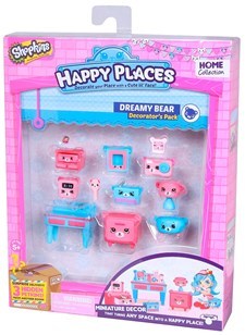 Decorator's Pack, Dreamy Bear, Happy Places