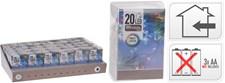 Ljusslinga Multicolor, 20 lampor, AA-batterier ingår ej