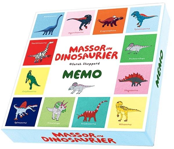 Massor Av Dinosaurier Memospel