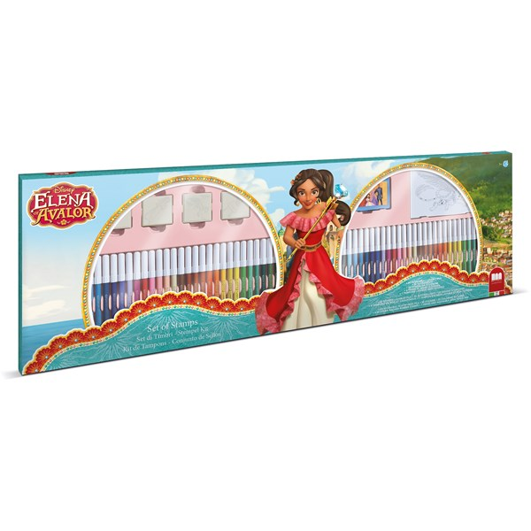Målar-set 60 pennor  Elena från Avalor  Disney - pyssel