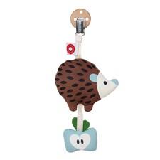 Tinka brown hedgehog clip rattle, Franck & Fischer