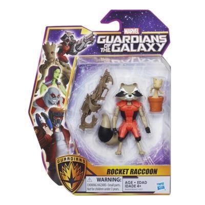 Rocket Raccoon  15 cm  Guardians of the Galaxy - actionfigurer
