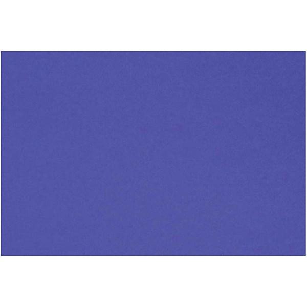 Kartong Färgad A4 180g Kungsblå 20 Ark