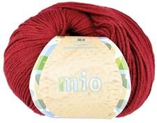 Mio Garn Merinoull 50g Burgundy Röd (30229)