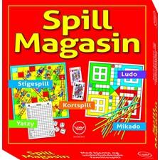 Spillmagasin 5-i-1 (NO)