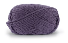 Knit At Home Nordic Wool Garn Ullgarn 100 g Aubergine 718