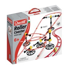 Quercetti Skyrail Roller Coaster Mini Rail Kuularata