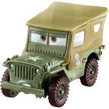 Diecast 1-pack, Sarge, Cars 3