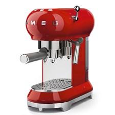 Smeg Espressomaskin Röd