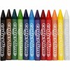 Färgkritor 11 mm 12 Färger