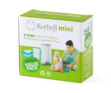 Refill 3-pack, Korbell Mini