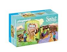 Hästbox med Pru och Chica Linda, Playmobil Spirit (9479)