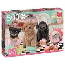 Studio Pets, Cupcakes, Pussel 500 bitar, Jumbo