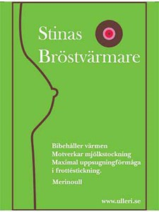 Stinas Bröstvärmare Svart, Strl S/M