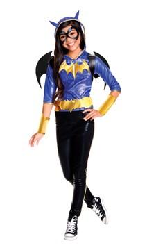 Maskeraddräkt Batgirl Deluxe, Strl 140-152, Rubies