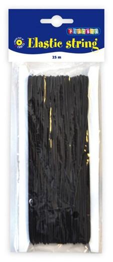 Elastisk tråd svart 1 mm Playbox