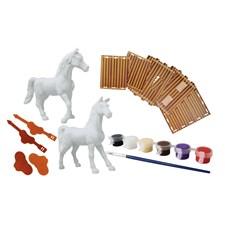 Måla själv, Hästar