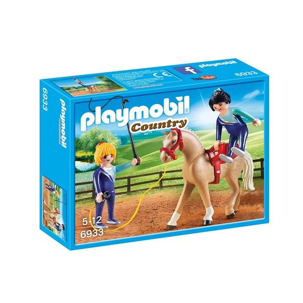 Voltigeträning  Playmobil Country (6933) - playmobil