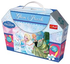 Glam pussel, Disney Frost, 100 bitar, Trefl