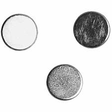 Powermagnet, dia. 5 mm, tykkelse 2 mm, 10stk.