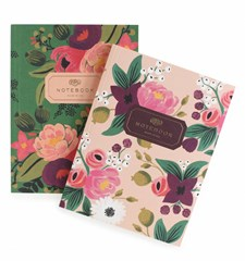 Pair of 2 Vintage Blossoms Notebooks