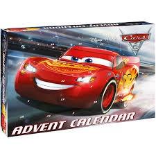 Adventtikalenteri 2017, Tarvikkeita ja hahmoja, Disney Pixar Cars 3