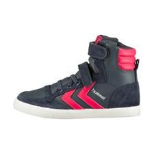 Slimmer stadil sneaker jr Strl 27, Virtual pink, Hummel
