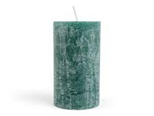 Pöytäkynttilä rustiikki tummanvihreä 12cm