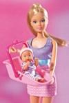 Steffi Babysitter (vaaleanpunainen hame)