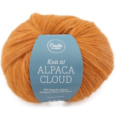 Adlibris Alpaca Cloud, 50 g, Honey Mustard A288