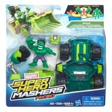 Super Hero Mashers, Mikrofigur og kjøretøy, Hulk, Avengers