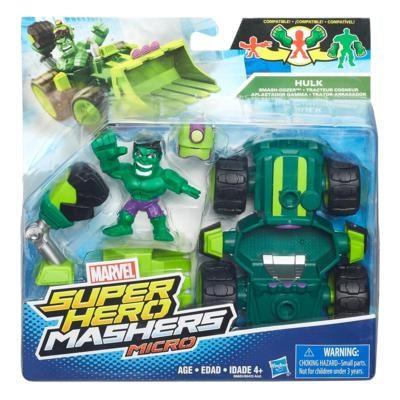 Super Hero Micro Vehicle & figure  Hulk  Avengers - figurer & miniatyrer