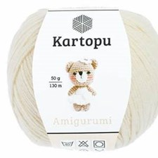 Kartopu Amigurumi 50g Cream K025