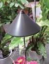 Sunlite växtlampa, Grafitgrå, 7W, teleskopstativ