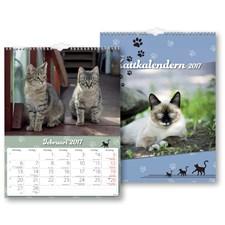 Väggkalender 2017 Katt Burde