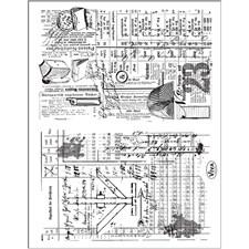 Silikonstämplar Arkiv 14x18 cm 1 Ark