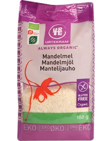 Urtekram Mandelmjöl 160 g Eko