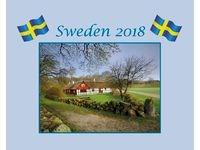 Väggkalender Sweden med kuvert - 1730