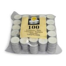 Värmeljus vita 100p
