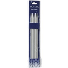 Novita strikkepinner plastic 20 cm 5.5
