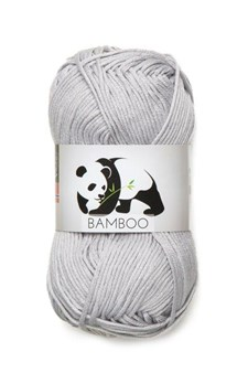 Viking of Norway Bamboo 50 gr Lys grå 613