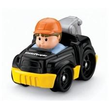 Little People Wheelies Bärgningsbil, svart, Fisher Price